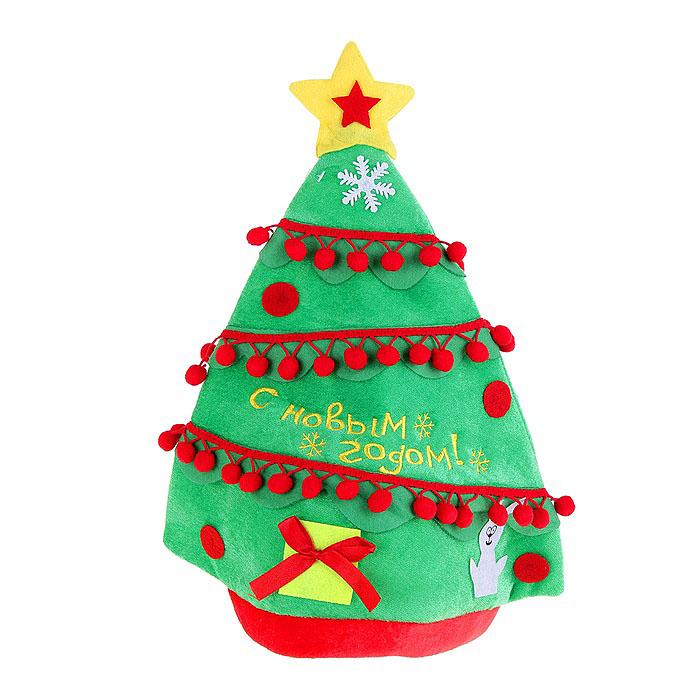 Карнавальная шляпа Sima-land Елочка. 301984 светильник свечка sima land с новым годом высота 10 5 см