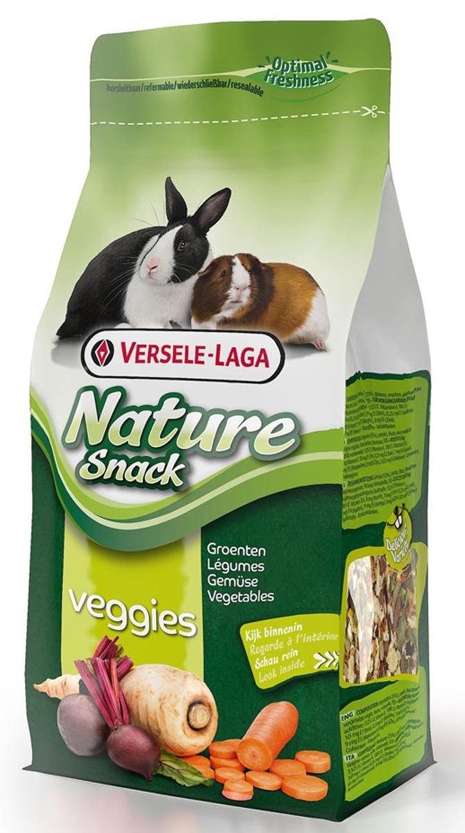 Лакомство для травоядных грызунов Versele-Laga Nature Snack Veggies, с овощами и травами, 85 г versele laga nature cavia