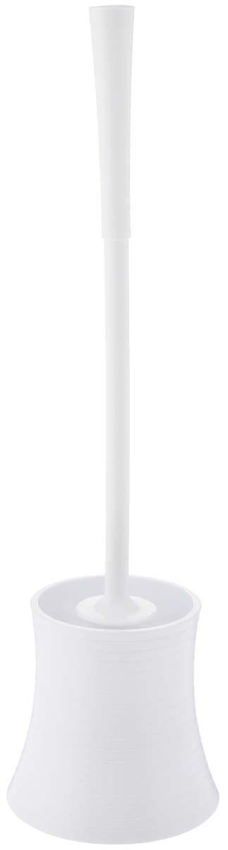 """Ершик для унитаза Vanstore """"Style""""  выполнен из пластика и оснащен жестким  ворсом. Подставка с устойчивым основанием не  позволяет ершику опрокинуться. Ершик отлично  чистит поверхность, а грязь с него легко смывается  водой. Стильный дизайн изделия притягивает взгляд и  прекрасно подойдет к интерьеру туалетной  комнаты. Высота ершика: 42 см. Размер рабочей части ершика: 8 х 8 х 8,5 см. Размер подставки для ершика: 12 х 12 х 11,5 см."""