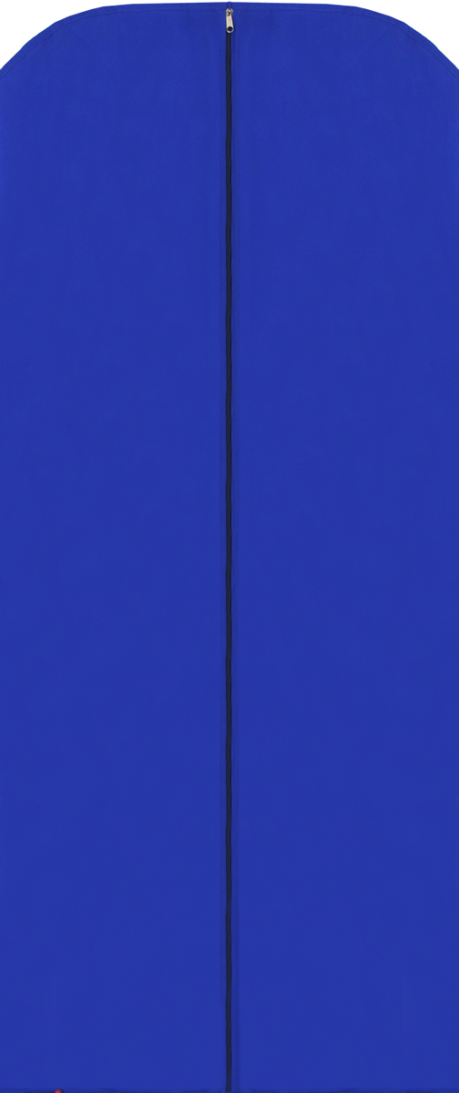 Чехол для одежды Eva, цвет: синий, 65 х 150 см. Е17Е17Чехол для одежды Eva изготовлен из высококачественного полипропилена. Особое строение полотна создает естественную вентиляцию: материал дышит и позволяет воздуху свободно проникать внутрь чехла, не пропуская пыль. Благодаря форме чехла, одежда не мнется даже при длительном хранении. Застегивается на молнию.Чехол для одежды будет очень полезен при транспортировке вещей на близкие и дальние расстояния, при длительном хранении сезонной одежды, а также при ежедневном хранении вещей из деликатных тканей. Чехол для одежды Eva не только защитит ваши вещи от пыли и влаги, но и поможет доставить одежду на любое мероприятие в идеальном состоянии.