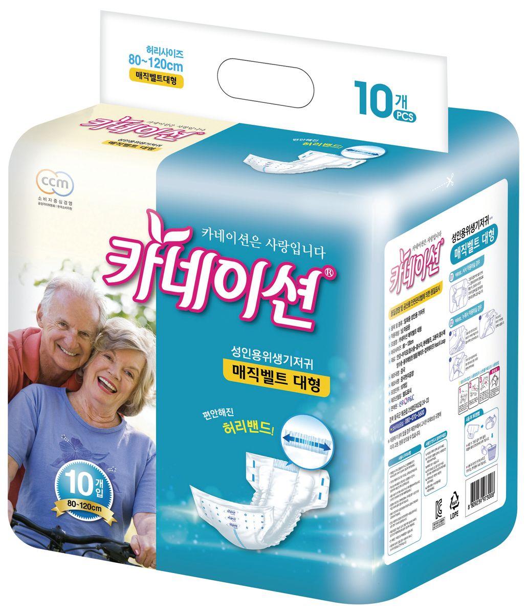 Carnation Подгузники для взрослых М 10 шт00-00001560Подгузники для взрослых Carnation оснащены липучками, что упрощает надевание. Такие подгузники подойдут для взрослых с недержанием или для ухода за лежачими больными. Обхват талии: от 80 до 120 см. Продукция Carnation производится для внутреннего рынка Южной Кореи и соответствует предъявляемым высоким стандартам качества Республики Корея.