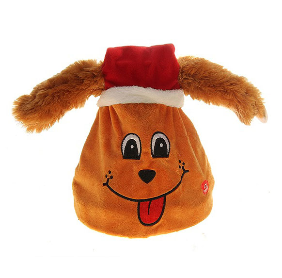 Карнавальная шляпа Sima-land  Собака , анимированная. 326611 -  Карнавальные костюмы и аксессуары