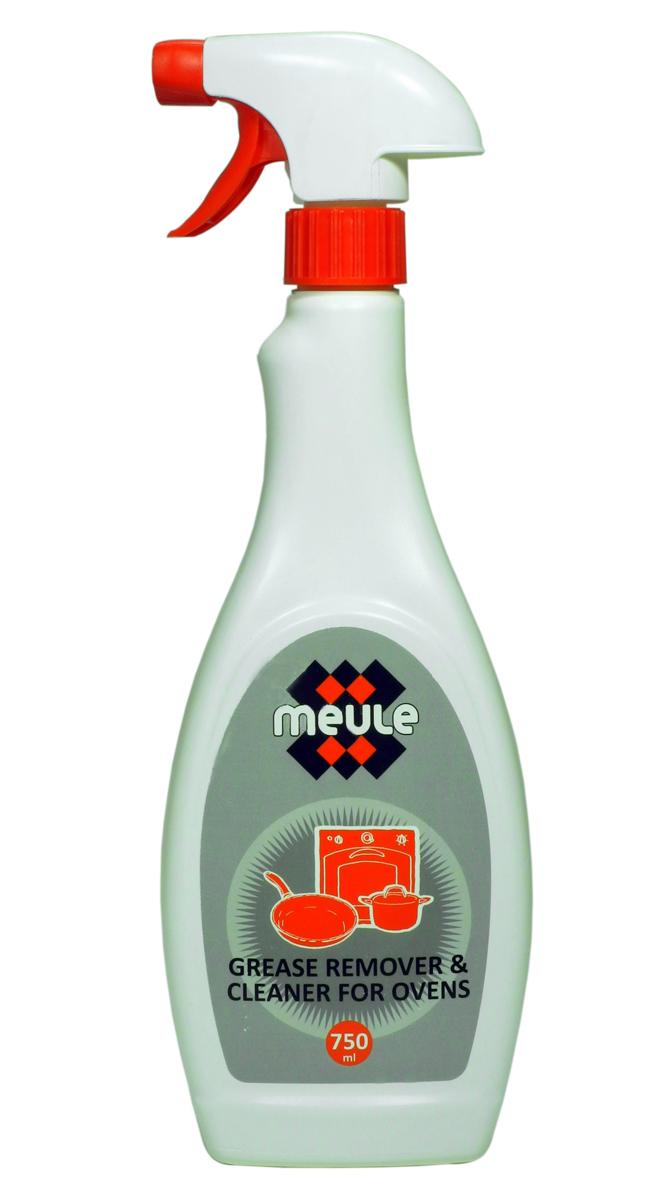 Средство Meule Grease Remover для удаления жира и копоти, 750 мл7290013129772Meule Grease Remover - это эффективное чистящее средство для удаления жира и копоти. Оно идеально удаляет стойкие и пригоревшие жиры с газовых и электрических плит, жаровен, гриля, барбекю, а так же с кухонной посуды и других поверхностей.