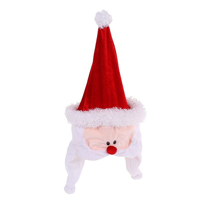 Карнавальный колпак Sima-land  Дед Мороз , с подсветкой, музыкальный. 333853 -  Карнавальные костюмы и аксессуары