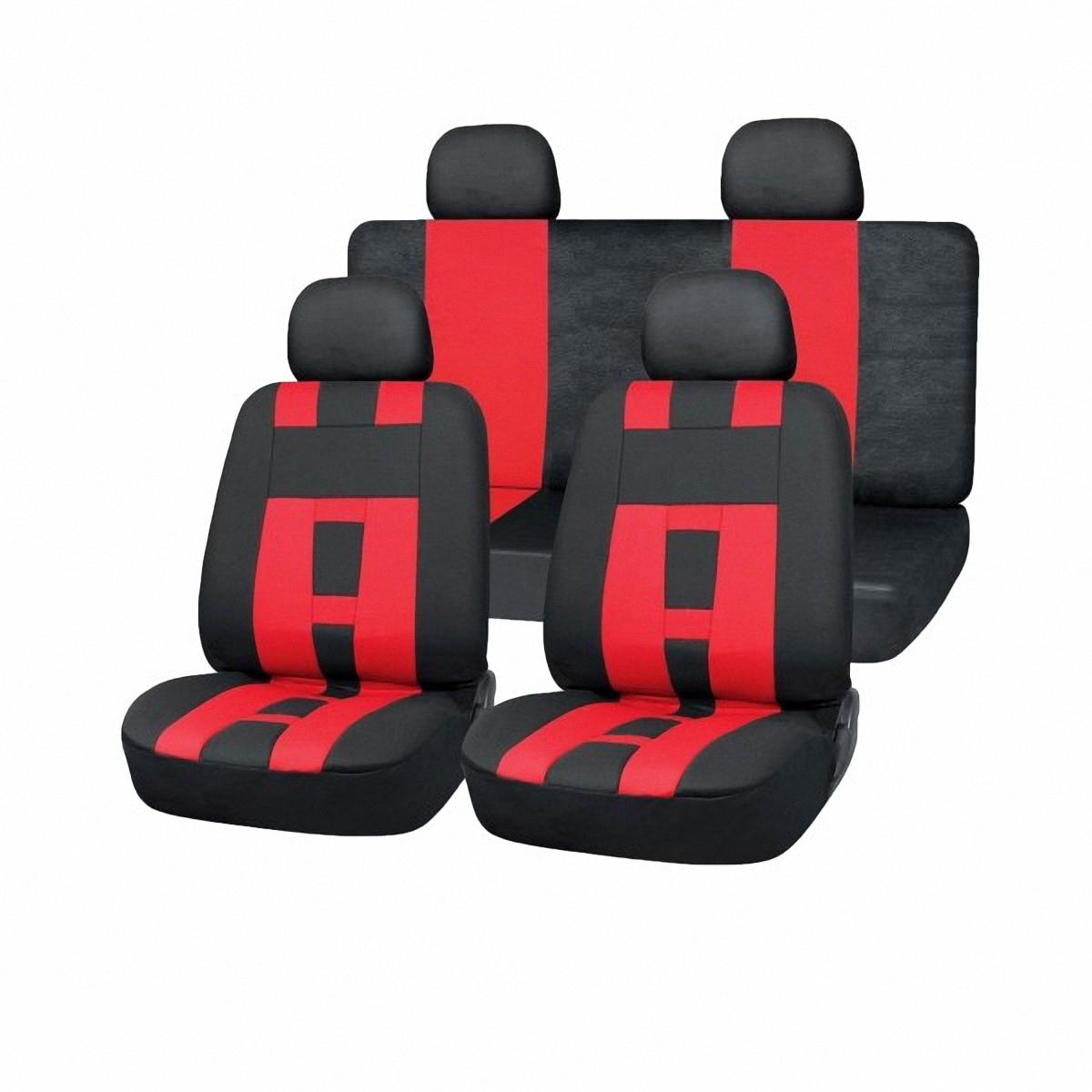 Чехлы автомобильные Skyway. SW-121011 BK/RD S/S01301025 чехол на сиденье autoprofi mtx 1105 bk rd m