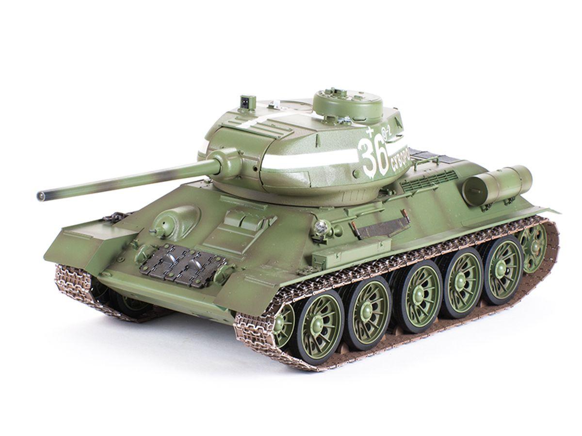 Pilotage Танк на радиоуправлении Т-34 цвет зеленый - Радиоуправляемые игрушки
