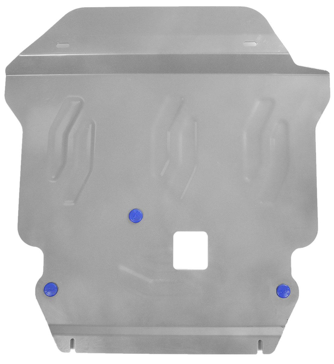 Защита картера и КПП Rival, для Dodge Journey333.1501.1Защита картера и КПП для Dodge Journey , V - 3,6 2007- , крепеж в комплекте, алюминий 4 мм, Rival. Надежно защищают днище вашего автомобиля от повреждений, например при наезде на бордюры, а также выполняют эстетическую функцию при установке на высокие автомобили.- Толщина алюминиевых защит в 2 раза толще стальных, а вес при этом меньше до 30%.- Отлично отводит тепло от двигателя своей поверхностью, что спасает двигатель от перегрева в летний период или при высоких нагрузках.- В отличие от стальных, алюминиевые защиты не поддаются коррозии, что гарантирует срок службы защит более 5 лет.- Покрываются порошковой краской, что надолго сохраняет первоначальный вид новой защиты и защищает от гальванической коррозии.- Глубокий штамп дополнительно усиливает конструкцию защиты.- Подштамповка в местах крепления защищает крепеж от срезания.- Технологические отверстия там, где они необходимы для смены масла и слива воды, оборудованные заглушками, надежно закрепленными на защите.Уважаемые клиенты!Обращаем ваше внимание, на тот факт, что защита имеет форму, соответствующую модели данного автомобиля. Фото служит для визуального восприятия товара.