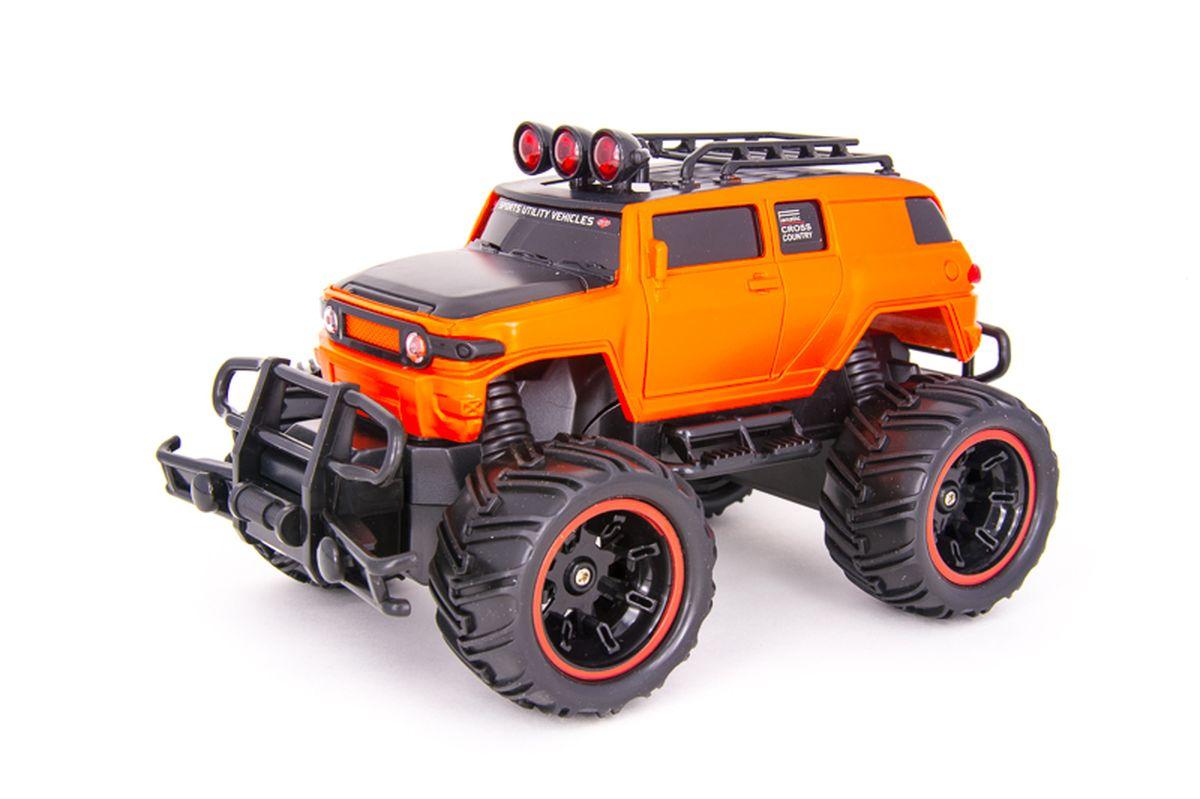 Pilotage Машина на радиоуправлении Внедорожник Off-Road Race Truck цвет оранжевый масштаб 1/20