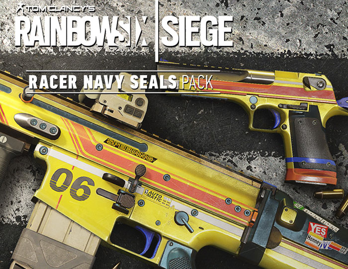 Tom Clancy's Rainbow Six: Осада. Racer Navy Seals Pack, Ubisoft Montreal
