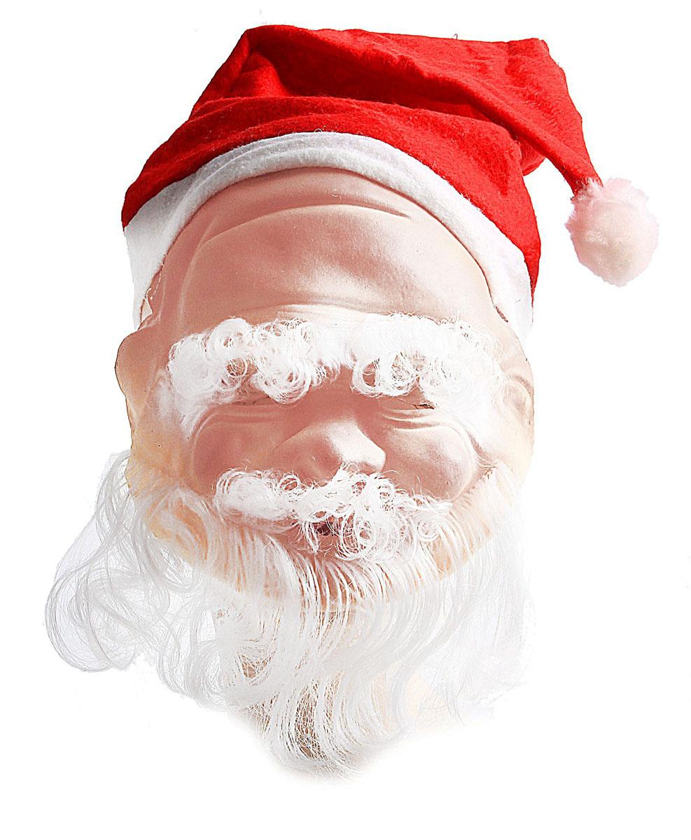 Маска карнавальная Sima-land  Дед Мороз . 318345 -  Карнавальные костюмы и аксессуары