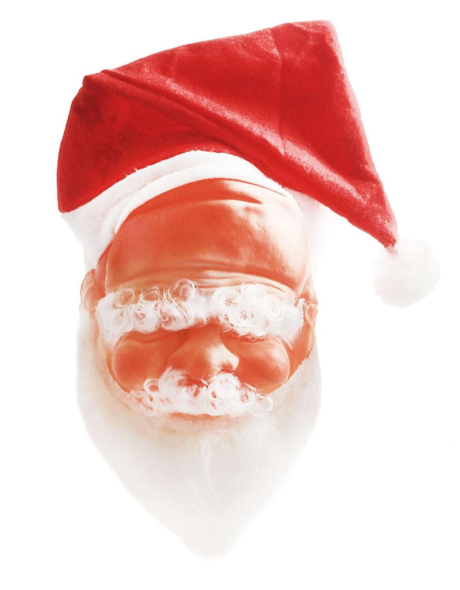 Маска карнавальная Sima-land  Дед Мороз . 318347 -  Карнавальные костюмы и аксессуары