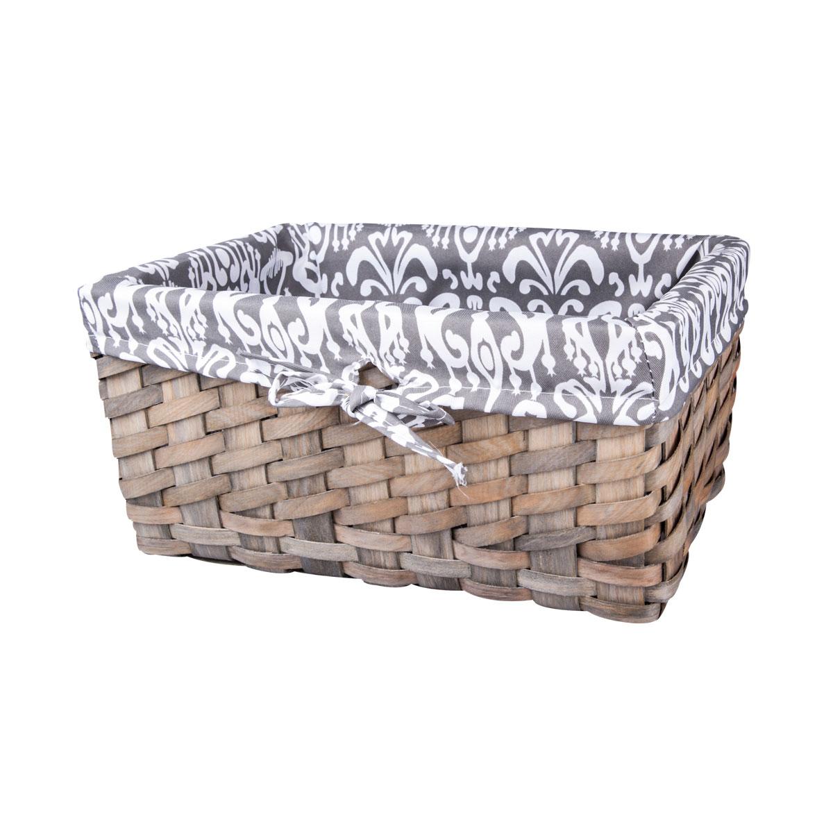 Корзина плетеная Miolla, 32 х 21 х 15 смQL400435-MЛучшее решение для хранения вещей - корзина для хранения Miolla. Экономьте полезное пространство своего дома, уберите ненужные вещи в удобную корзину и используйте ее для хранения дорогих сердцу вещей, которые нужно сберечь в целости и сохранности.Корзина изготовлена из дерева. Специальные отверстия на стенках создают идеальные условия для проветривания. Размер корзины: 32 х 21 х 15 см.