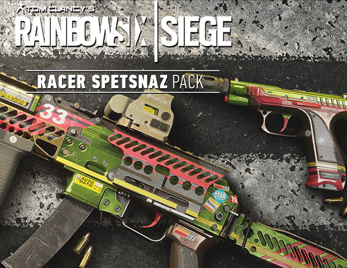 цена на Tom Clancy's Rainbow Six: Осада. Racer Spetsnaz Pack