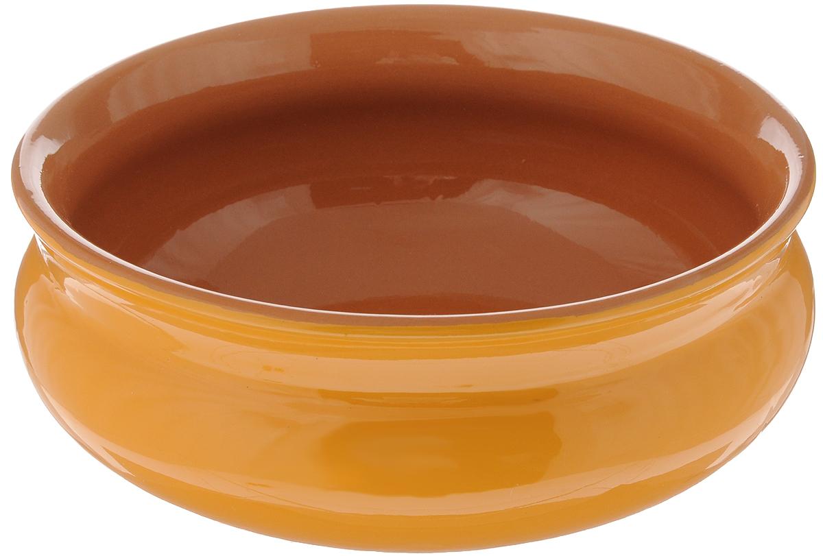 Тарелка глубокая Борисовская керамика Скифская, цвет: горчичный, коричневый, 800 млРАД14457937_горчичный, коричневыйГлубокая тарелка Борисовская керамика Скифская выполнена из высококачественной керамики.Изделие сочетает в себе изысканный дизайн с максимальной функциональностью. Она прекрасно впишется в интерьер вашей кухни и станет достойным дополнением к кухонному инвентарю. Тарелка Борисовская керамика Скифская подчеркнет прекрасный вкус хозяйки и станет отличным подарком. Можно использовать в духовке и микроволновой печи.Диаметр тарелки (по верхнему краю): 16 см.Объем: 800 мл.