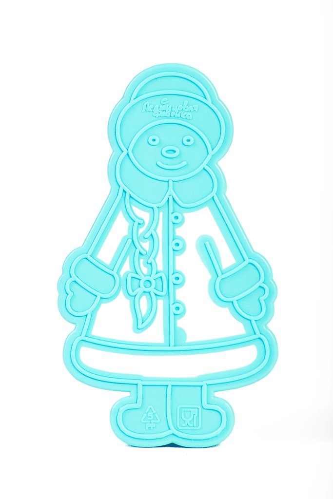 Форма для печенья Леденцовая фабрика СнегурочкаВ03Форма для вырезки теста из серии Новогодняя сказка - Снегурочка. Особенность формы - двухуровневая.Формочки для печенья поместите на предварительно раскатанное тесто и оттисните узор. Снимите форму, и вы увидите не только контур печенья, но и красивый внутренний рисунок. Попробуйте также украсить печенье уже по готовому рисунку. Печенье получается красочным и праздничным! Готовьте вместе с детьми!