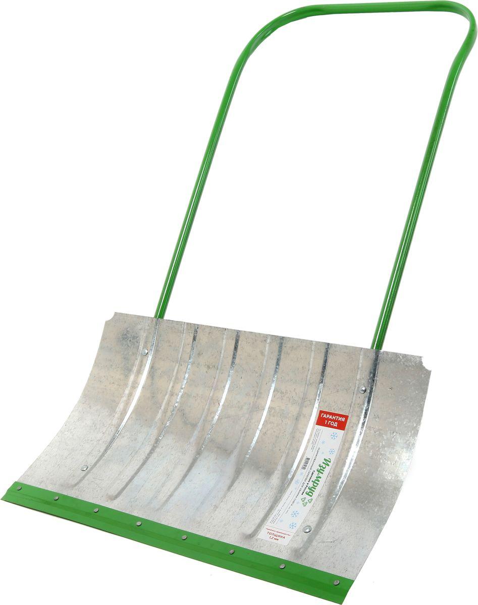 Скрепер для уборки снега Изумруд, оцинкованный, 75 x 42,8 см3001