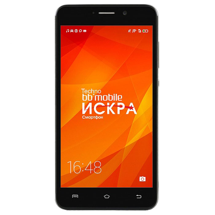 BB-mobile Techno Искра 5.0 3G X595BT, Black