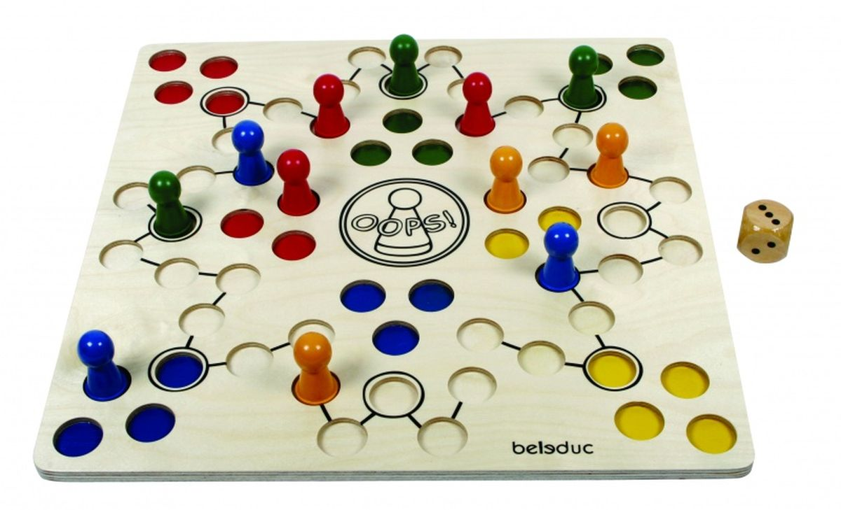 Beleduc Обучающая игра Ooпс! корвет обучающая игра удивляйка 1