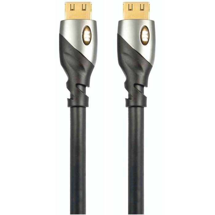 Monster UltraHD Platinum кабель HDMI 1,5 м140742-00Кабель HDMI Monster UltraHD Platinum гарантировано обеспечит передачу HD видео от любого источника снеобходимой для этого скоростью.Кроме высокой пропускной способности, HDMI кабели серии Ultra HD Platinum являются прекрасным выбором дляподключения компонентов вашей домашней мультимедиа системы. Они смогут передать все их тонкости и нюансыбез потерь. Цифровое аудио Dolby DTS-HD и 8-14 битная цветопередача не исключение.Разъемы с патентованной конструкцией V-Grip - это уникальный дизайн, обеспечивающий максимальнокачественное соединение. Данная конструкция предотвращает случайное отключение кабеля. Позолоченныеразъемы 24k прошли тестирование на 10 000 подключений и обеспечивают чистый сигнал без потерь.Кабель позволяет передавать интернет сигнал нескольким устройствам без необходимости использованиядополнительных Ethernet-кабелей.