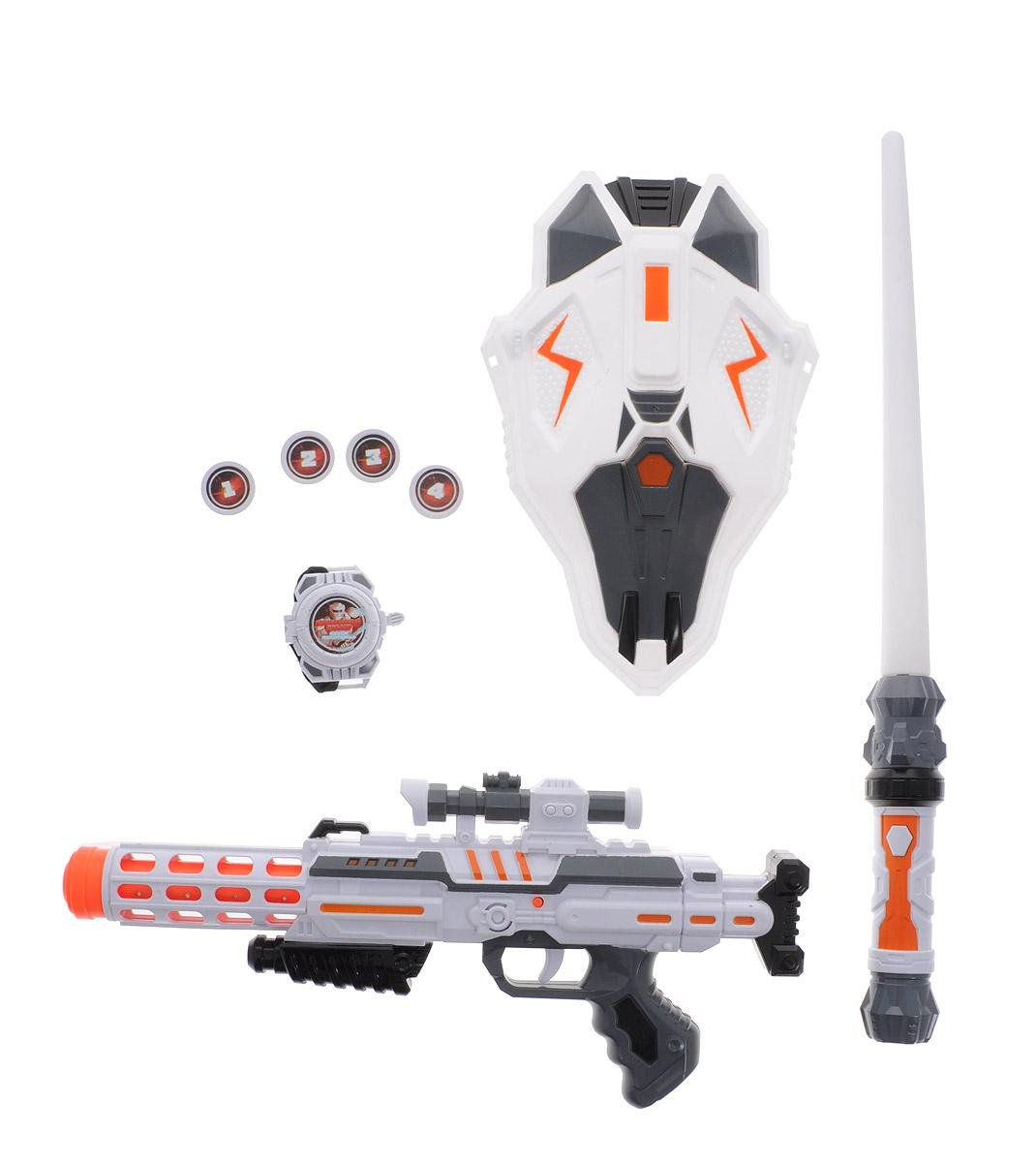 ABtoys Набор пехотинца Космический десант 8 предметов - Игрушечное оружие