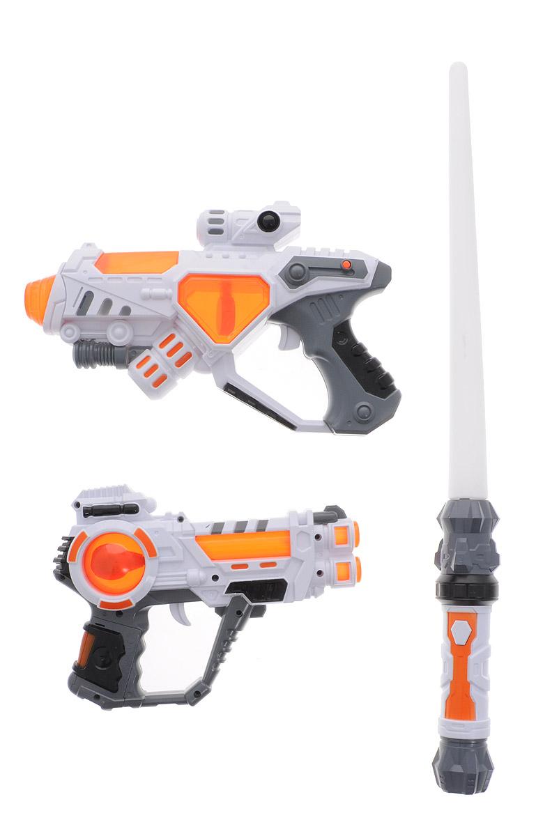 ABtoys Набор пехотинца Космический десант 3 предмета C-00156 - Игрушечное оружие