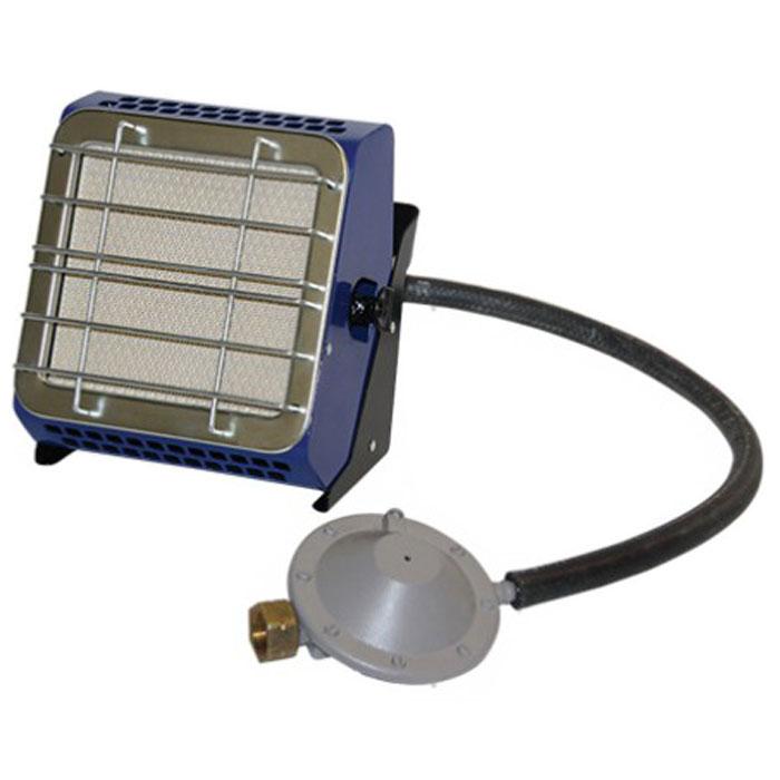 Hyundai H-HG2-29-UI686 газовый инфракрасный обогревательH-HG2-29-UI686В газовом инфракрасном обогревателе Hyundai 2,9 H-HG2-29-UI686 применяются керамические излучатели Rauschert (Германия), что создает эффект открытого пламени (очень похоже на камин). Благодаря используемой системе инфракрасного излучения в помещении не выгорает кислород, нагревается не воздух, а предметы, которые впоследствии отдают тепло вам.Работает данный газовый обогреватель на самом экологичном и недорогом виде топлива пропан-бутан. Можно использовать для приготовления и подогрева пищиДва рабочих положения: горизонтально (излучающей поверхностью вверх) вертикально (угол наклона не более 60°)Максимальный расход газа: 0,249 кг/час Давление газа : 30 мбарТемпература излучающей поверхности: не менее 800°CЛучистый КПД: 35%Как выбрать обогреватель. Статья OZON Гид