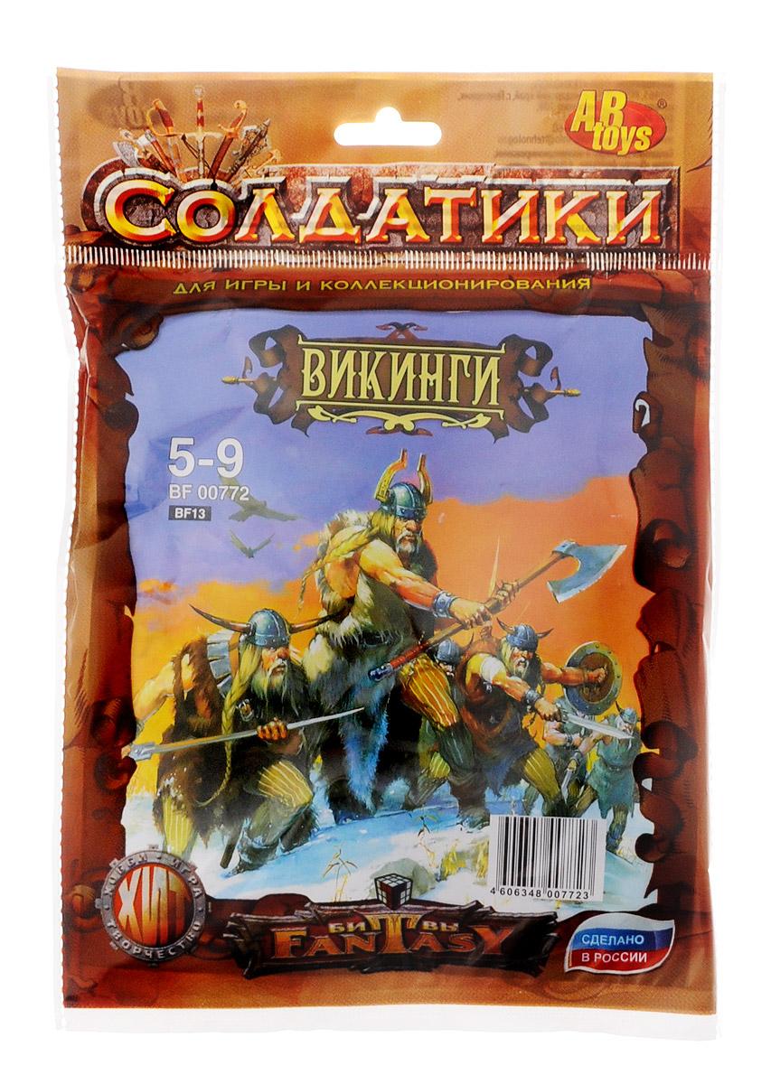 ABtoys Набор солдатиков Викинги 5 шт недорого