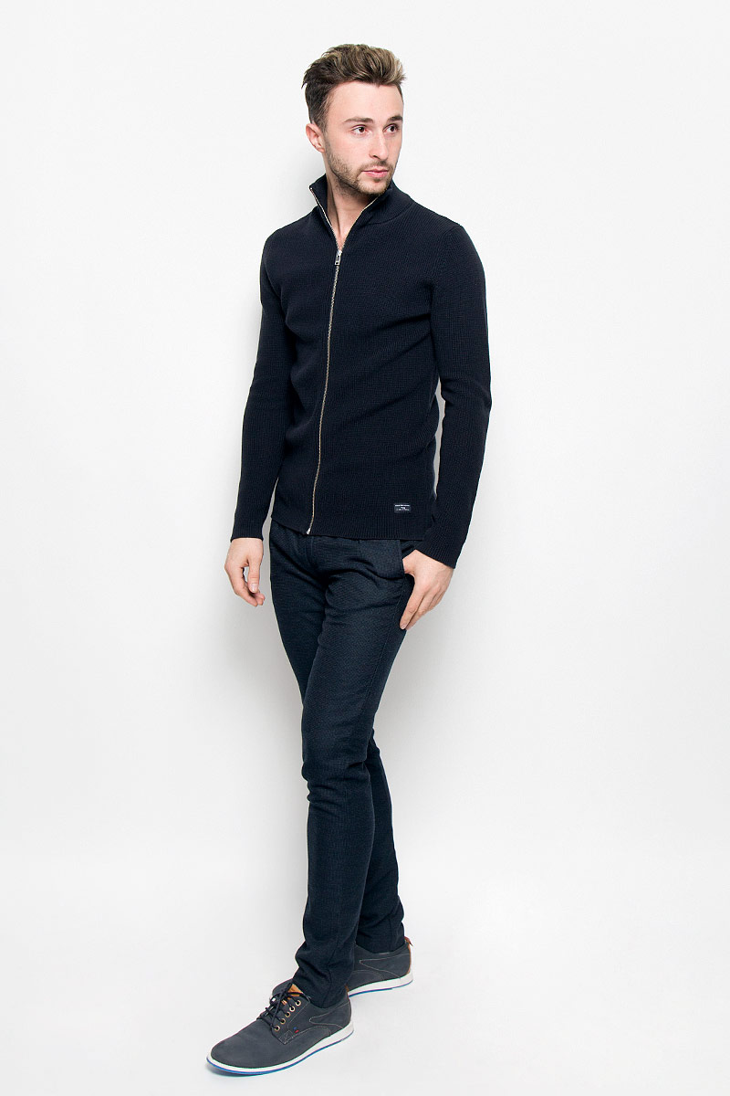 Кофта мужская Selected Homme, цвет: темно-синий. 16052218. Размер L (48) selected homme куртка