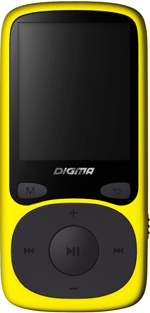Digma B3 8Gb, Yellow MP3-плеерB3YLПлеер Digma B3 может использоваться не только для прослушивания музыки, но также для просмотра видео и изображений. Автономное питание рассчитано на 10 часов непрерывной работы и осуществляется с помощью литий-полимерного аккумулятора. Поддержка карт памяти microSD позволяет загружать файлы различных типов и объемов. Благодаря размеру и весу плеера вы всегда сможете взять его в дорогу.