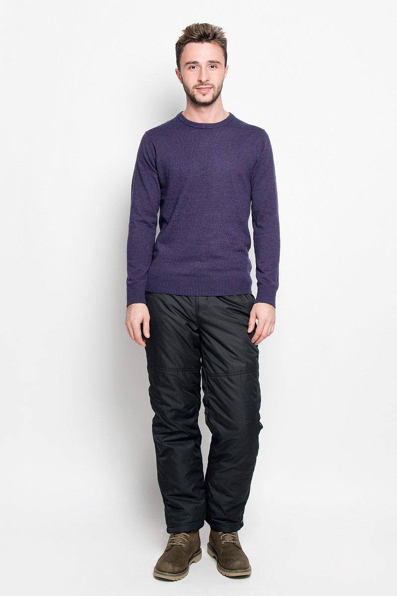 Брюки утепленные мужские Sela Casual Wear, цвет: черный. Pp-225/102-6313. Размер XS (44)Pp-225/102-6313Мужские утепленные брюки Sela Casual Wear идеально подойдут для холодной погоды. Брюки выполнены из полиэстера. В качестве утеплителя используется 100% полиэстер.Брюки прямого кроя застегиваются спереди на пуговицы и имеют ширинку на застежке-молнии. В поясе модель дополнена эластичными вставками и хлястиками с липучками для более удобной посадки на фигуре. Имеются шлевки для ремня. Спереди расположены два прорезных кармана, сзади - один прорезной. Карманы закрываются на молнии. На брючинах предусмотрены снегозащитные манжеты с прорезиненными полосками. Низ брючин оснащен застежками-кнопками.Такие брюки станут отличным дополнением к вашему гардеробу!