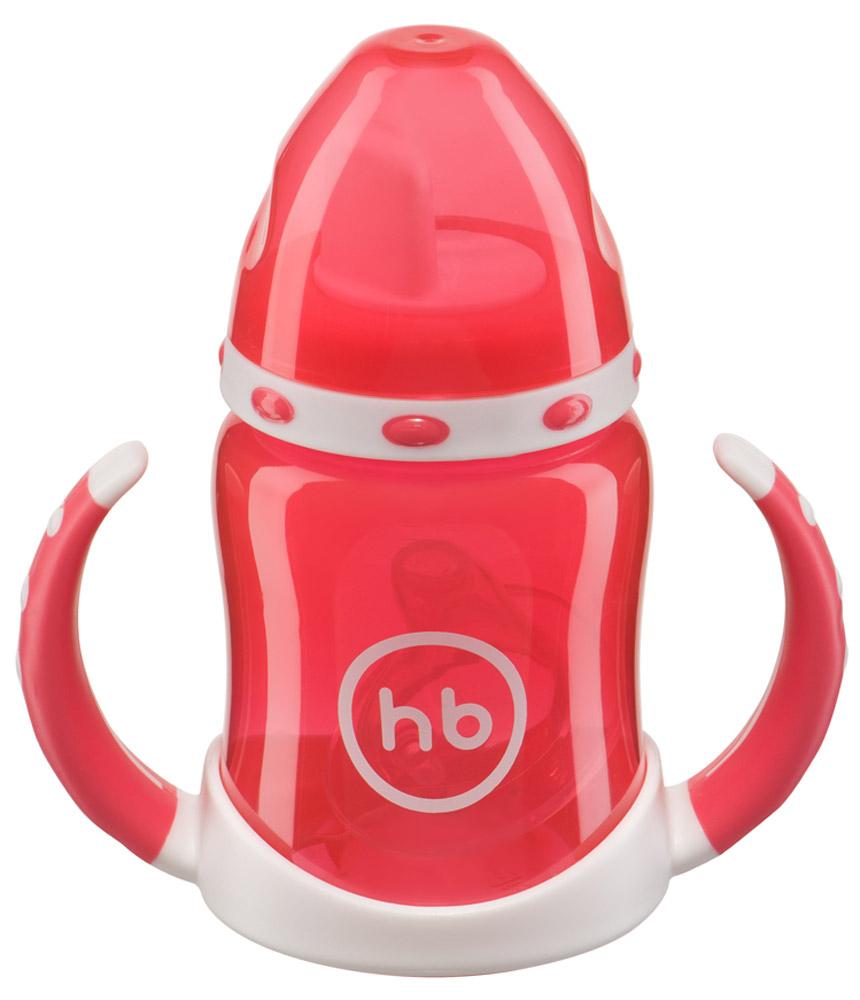 Happy Baby Поильник Ergo Cup от 6 месяцев цвет красный 180 мл happy baby прорезыватель мишка от 6 месяцев цвет желтый