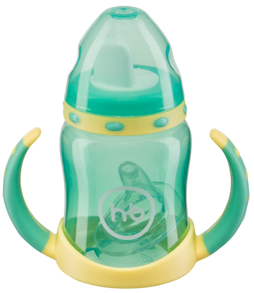 Happy Baby Поильник Ergo Cup от 6 месяцев цвет мятный 180 мл
