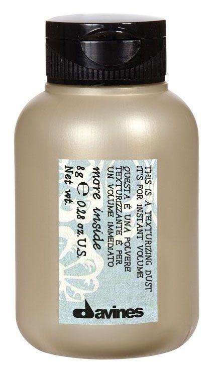 Davines Пудратекстуризатор для мгновенного обьема волос More Inside Texturizing Dust for Instant Volume 8 гр