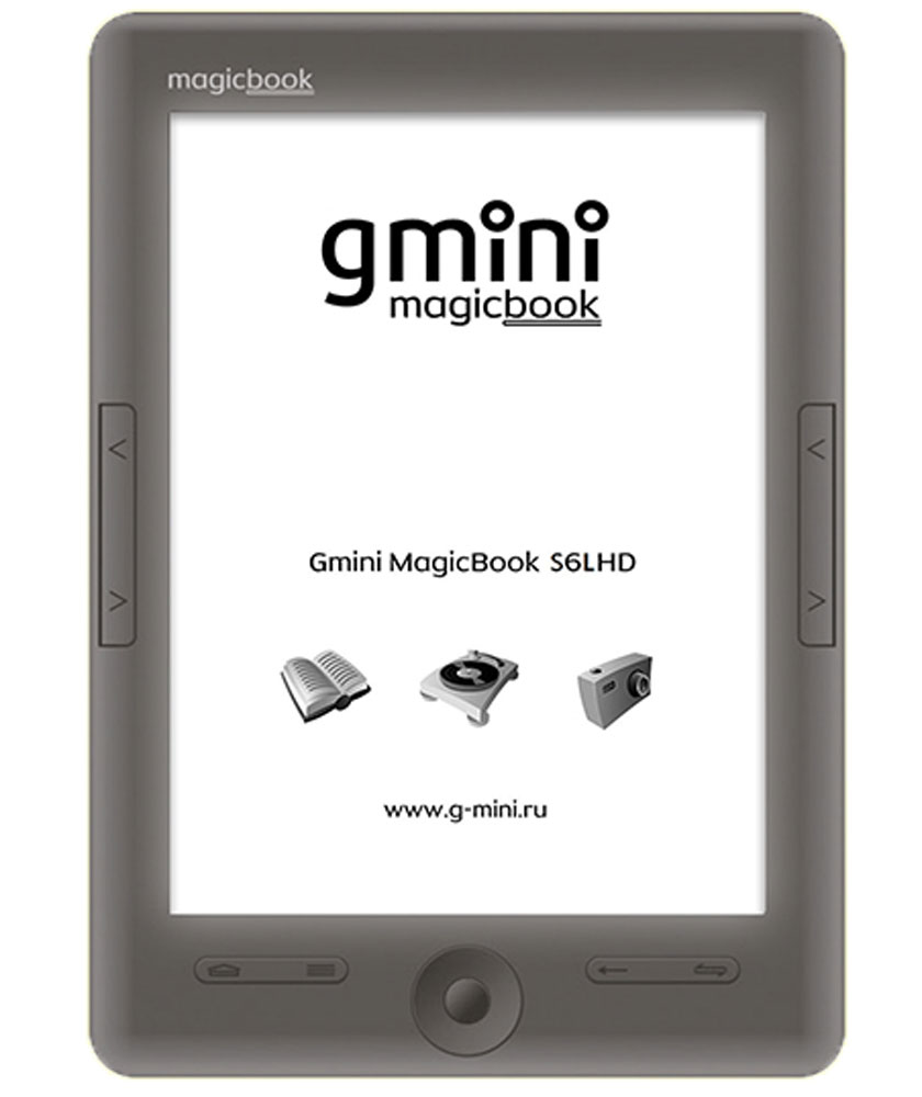 Gmini MagicBook S6LHD, Graphite электронная книга -