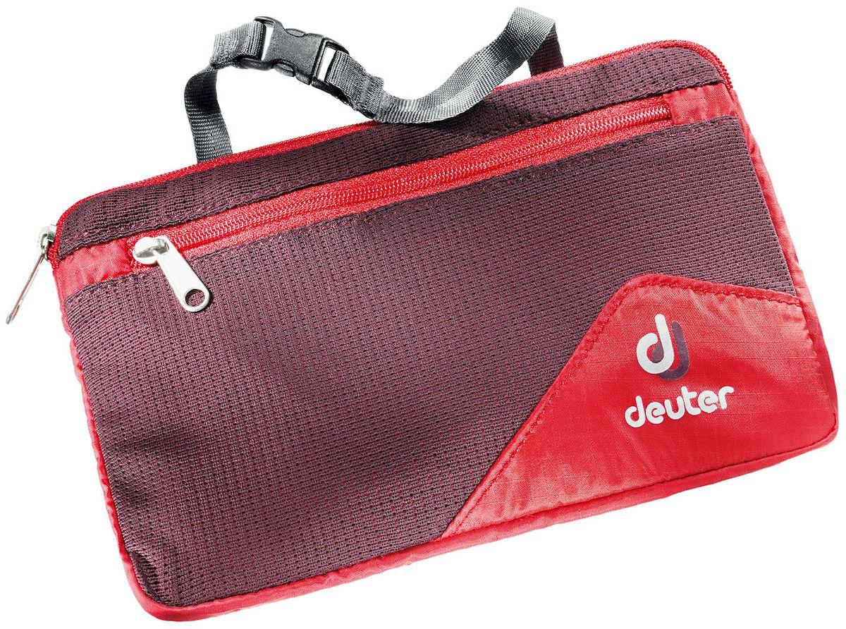 Косметичка Deuter Wash Bag Lite Ii Fire-Aubergine, цвет: бордовый. 3900116