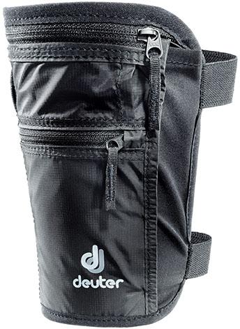 Кошелек Deuter Security Legholster Black, цвет: черный3942316_7000Кошелек-кобура, спрятанная под брюками, надежно хранит документы и ценные вещи. Мягкий резиновый ремешокс липучкой обеспечивает удобную и комфортную подвеску. Особенности: - мягкий ремешок с застежкой-липучкой - излишки ремешка можно убрать- комфортная для тела подкладка - основное отделение со складками на молнии - переднее отделение на молнии