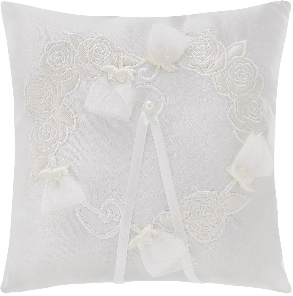 Подушечка для колец Bianco Sole  Свадебная , 25 х 25 см -  Свадебные аксессуары