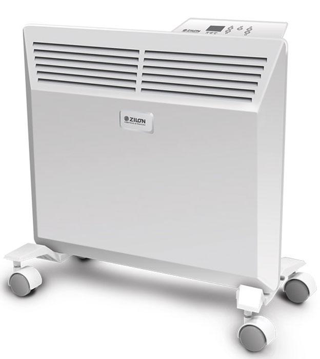 ZILON ZHC-2000 E3.0 электрический конвекторZHC-2000 E3.0Электрический конвектор ZILON ZHC-2000 E3.0 - это современный, надежный, мобильный и экономичный обогреватель. Компактные размеры делают конвектор ZILON ZHC-2000 E3.0 идеальным решением для обогрева жилых помещений, офисов, квартир. Работа конвектора ZILON ZHC-2000 E3.0 основана на принципе естественной конвекции: холодный воздух поступает внутрь обогревателя через отверстие в нижней части и, проходя через нагревательный элемент, уже нагретый воздух выходит через жалюзи, расположенные на передней панели обогревателя. Конвектор оснащен электронной панелью управления.Особая форма корпуса конвектора улучшает конвекцию горячего воздуха за счёт расширяющегося кверху воздушного каналаФункция отключения конвектора при отклонении от вертикали сверх нормы гарантирует полную безопасность пользователя. А новый доработанный конструктив шасси исключает случайное опрокидывание прибораЦельнолитная конструкция Х-образного элемента, выполненная по особой технологии, имеет ребристую структуру, что сводит к минимуму перегрев оборудования и увеличивает срок службы прибораВысокоточный электронный термостат контролирует с точностью до 1°С и поддерживает комфортную температуру в помещенииСовременный внешний вид позволяет гармонично вписать конвектор в любой интерьер, белоснежная панель с декоративным тиснением подчеркивает лаконичный стиль прибораС влагостойким исполнением корпуса прибора IP24 прибор можно использовать в помещениях с повышенной влажностью и обилием брызгУдобная в эксплуатации, интуитивно понятная панель управления облегчает использование прибораВстроенный таймер позволяет адаптировать конвектор под потребности пользователя: есть возможность задать временной диапазон работы конвектора