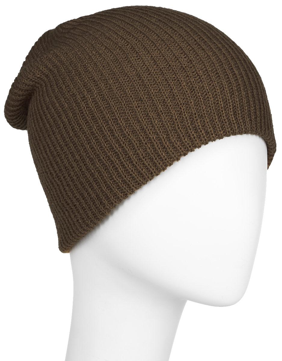 Шапка мужская Quiksilver Cushy Slouch, цвет: золотисто-коричневый. AQYHA03561-CQF0. Размер универсальныйAQYHA03561-CQF0Классическая мужская шапка Quiksilver отлично дополнит ваш образ в холодную погоду. Выполненная из акрила она максимально сохраняет тепло и обеспечивает удобную посадку, невероятную легкость и мягкость. Шапка оформлена небольшой нашивкой с названием бренда. Стильная шапка Quiksilver подчеркнет ваш неповторимый стиль и индивидуальность. Такая модель составит идеальный комплект с модной верхней одеждой, в ней вам будет уютно и тепло.