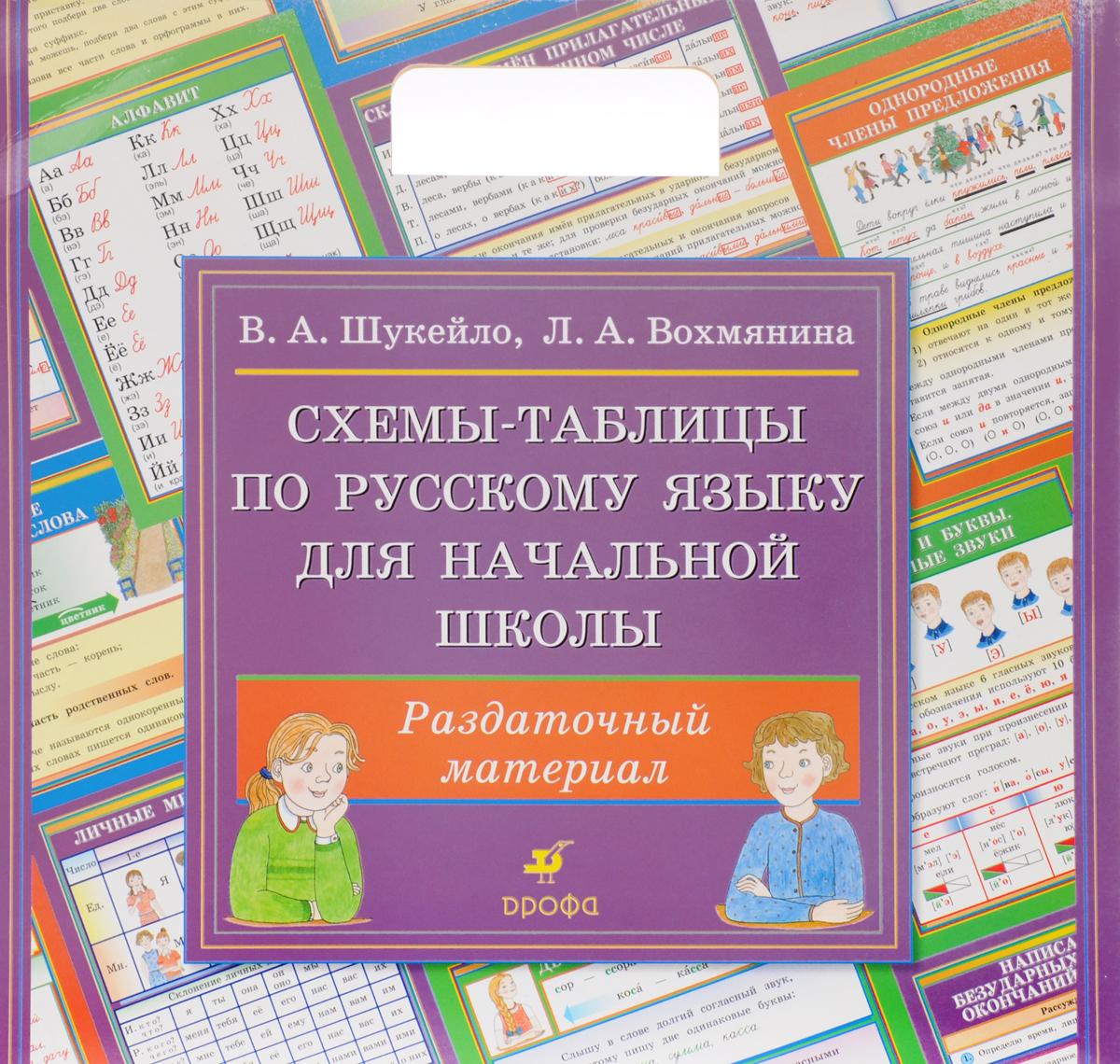 Русский язык. Схемы-таблицы для начальной школы. Раздаточный материал