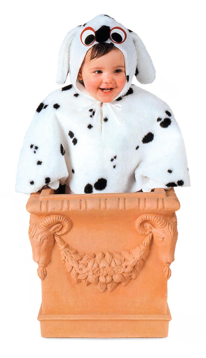 Rio Карнавальный костюм для мальчика Далматинец цвет белый черный размер 28 (3-4 года) rio карнавальный костюм для девочки царевна цвет белый размер 28 3 4 года