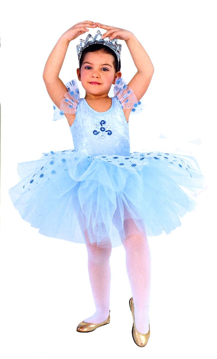 Rio Карнавальный костюм для девочки Балерина цвет голубой размер 32 (6-7 лет) -  Карнавальные костюмы и аксессуары