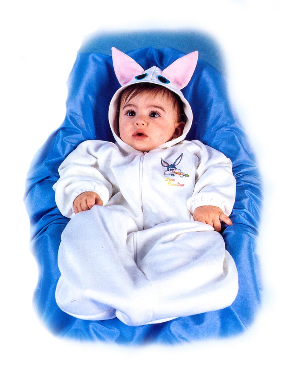 Rio Карнавальный костюм для девочки Зайчик цвет белый размер 24 (1-2 года) rio карнавальный костюм для девочки царевна цвет белый размер 28 3 4 года