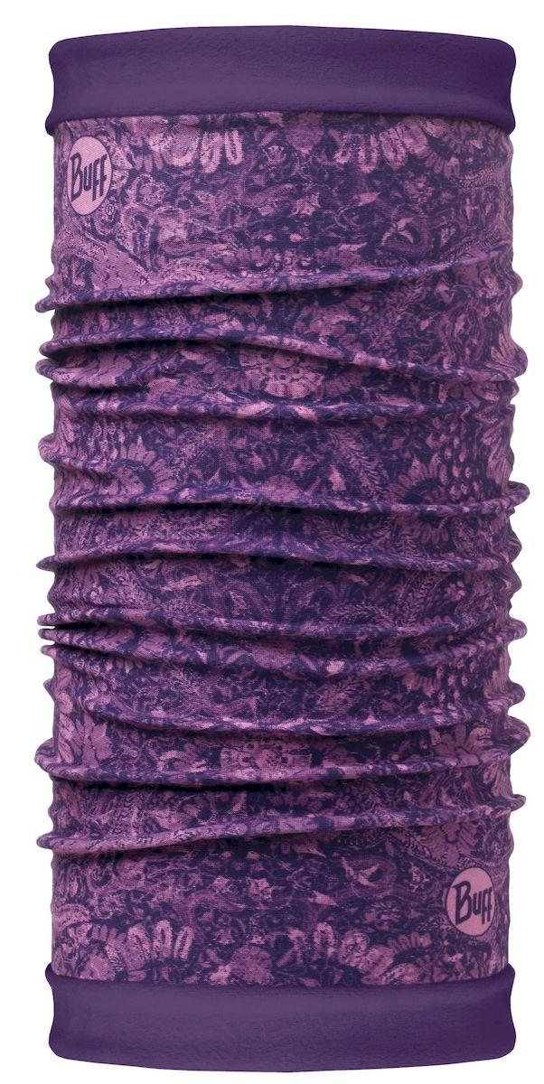 Шарф Buff Reversible Polar Ethereal Violet Wine Berry-Violet-Standard, цвет: фиолетовый. 113138.619.10.00. Размер 53/62 см113138.619.10.00Самым теплым шарфом в виде трубы является именно эта серия Buff Reversible. Бандана-шарф изготовлена в виде трубы высотой 50 см. Снаружи усилена эластичной тканью из полиэстера, на который нанесен красочный узор, а внутри по всей поверхности утеплена мягким и теплым флисом. Такую бандану-трубу можно использовать в качестве шарфа, маски на лицо и даже шапки. Подходит для средней и низкой активности или для занятий спортом в холодное время года, особенно если эти занятия связаны с периодами отдыха. Например, при катании на сноуборде, горных лыжах или просто прогулках в сильный мороз.
