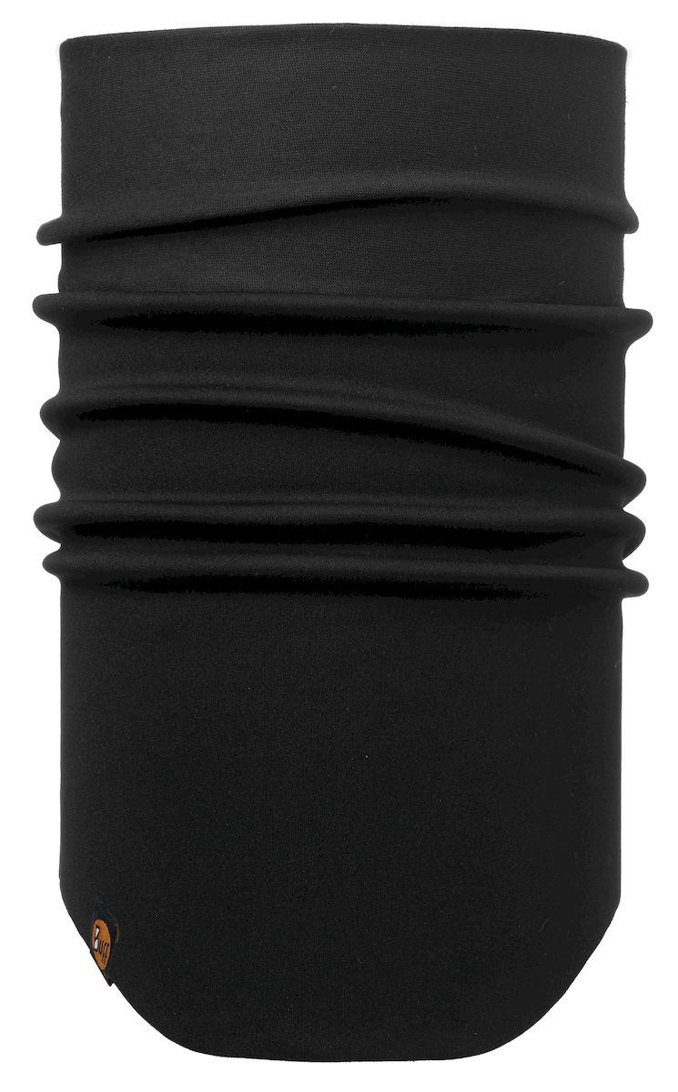 Шарф Buff Windproof Neckwarmer Solid New Black, цвет: черный. 113243.999.10.00. Размер 53/62 см113243.999.10.00Шарф с мембраной Windstopper. Высокая степень защиты от ветра и непогоды. Подходит для катания и активного отдыха.