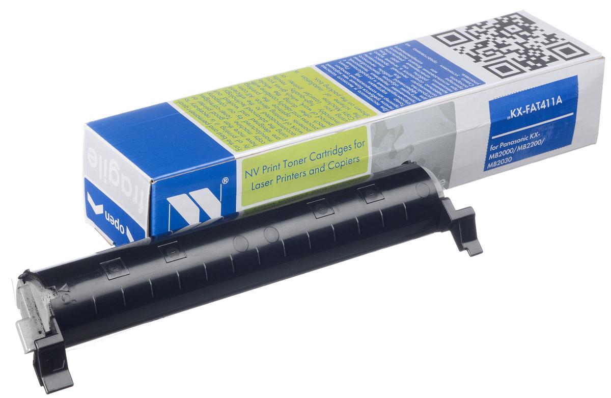 NV Print NV-KXFAT411А, Black тонер-картридж для Panasonic KX-MB2000/KX-MB2020/KX-MB2030 тонер туба panasonic dp 1515p в алматы