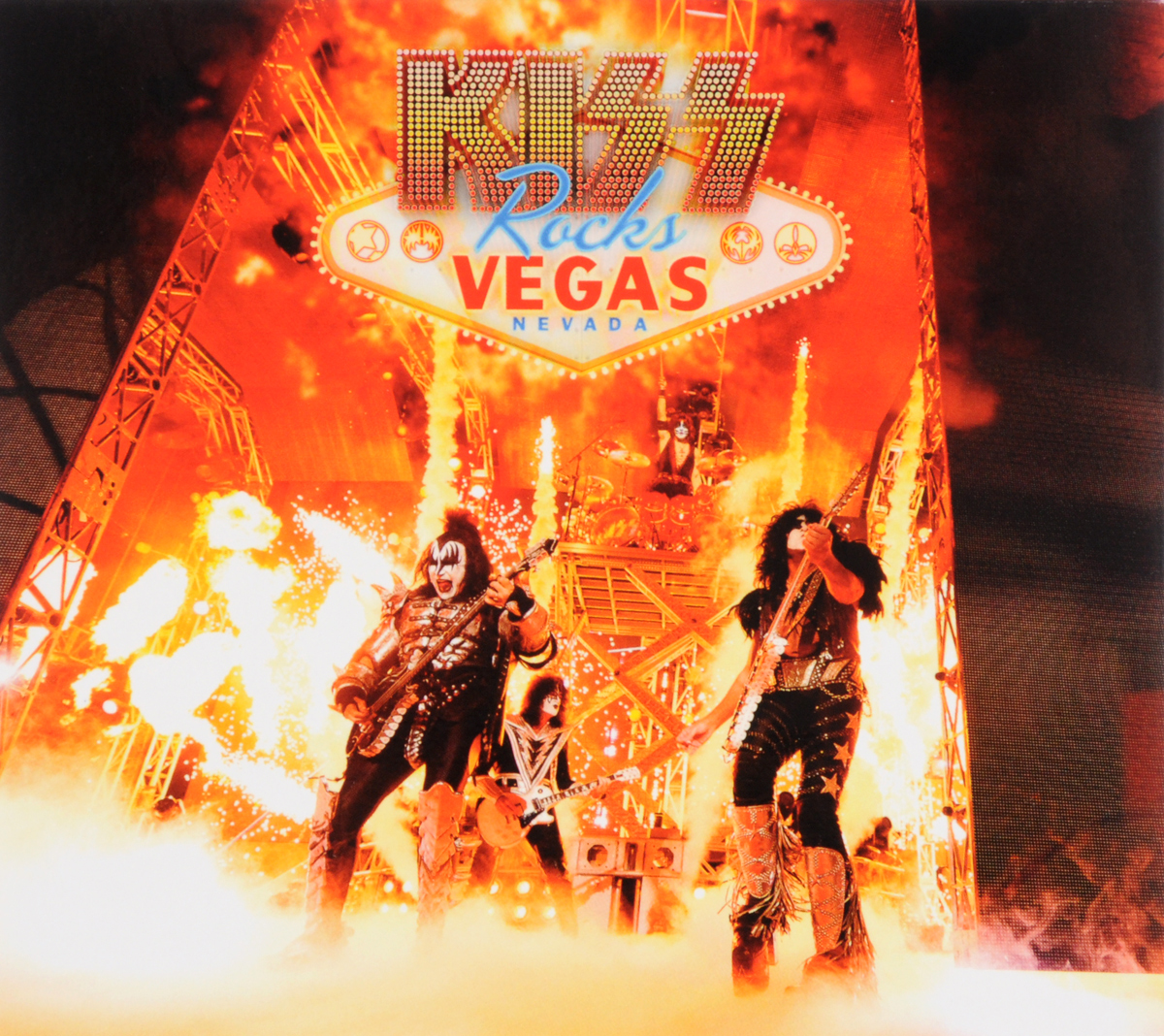 Kiss Kiss. Rocks Vegas (CD + DVD) kiss me once cd