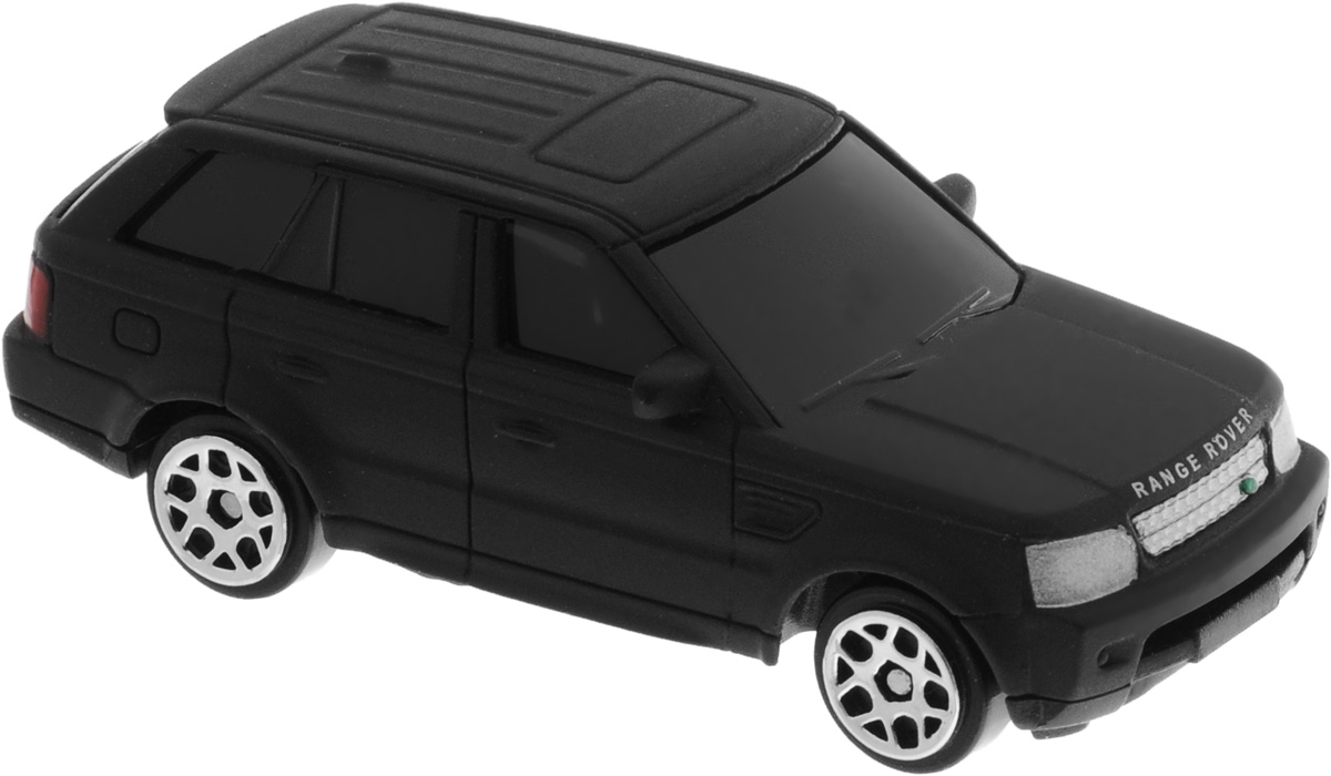 Uni-FortuneToys Модель автомобиля Land Rover Range Rover Sport цвет черный матовый uni fortunetoys модель автомобиля volkswagen touareg