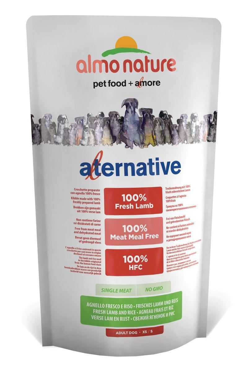 Корм сухой Almo Nature Alternative для собак карликовых и мелких пород, с ягненком и рисом, 750 г10757Полнорационный корм Almo Nature Alternative рекомендован для собак карликовых и мелких пород. Монобелковый корм не содержит мясной муки и дегидрированного мяса. Рекомендован к употреблению собакам с чувствительным пищеварением. Не содержит глютена, ГМО, химических консервантов, красителей и усилителей вкуса.Состав: свежий ягненок - 50%, рис - 45%, дрожжи, свекольный жом, картофельный протеин, жир животного происхождения, минералы, гидролизированный белок ягненка, цельные семена льна, лососевый жир, маннанолигосахариды 0,1%, инулин из цикория - источник FOS (фруктоолигосахариды) - 0,1%. Витамины и микроэлементы: витамин A - 22000 IU/кг, витамин D3 - 1400 IU/кг, витамин E - 300 мг/ кг, витамин B1 - 12 мг/кг, витамин B2 - 14 мг/кг, кальций D-пантотенат 20 мг/кг, витамин B6 - 12 мг/ кг, витамин B12 - 0,15 мг/кг, холин хлорид - 3200 мг/кг, ниацин - 25 мг/кг, биотин - 0,5 мг/кг, таурин - 1000 мг/кг, витамин K - 1 мг/кг, фолиевая кислота - 1 мг/кг, L-лизин - 5000 мг/кг, L-карнитин - 50 мг/кг, сульфат меди пентагидрат - 32 мг/кг, двухвалентной меди хелат аминокислот гидратов - 33 мг/кг, моногидрат сульфата цинка - 222 мг/кг, цинка аминокислотный хелат гидрат - 267 мг/кг, моногидрат сульфата марганца - 20,65 мг/кг, органический селен - 80,44 мг/кг. Пищевая ценность: белки - 24%, клетчатка - 2,9%, жиры - 13%, зола - 7%, кальций - 1,2%, фосфор - 0,8%, Омега 3 - 0,45%, Омега 6 - 1,1%, влага - 9,5%. Калорийность: 3530 ккал/кг.Товар сертифицирован.