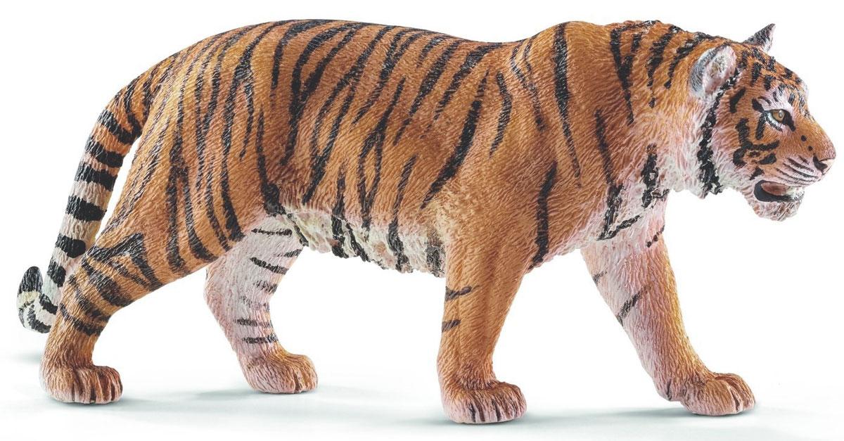 Schleich Фигурка Тигр книжки картонки росмэн книжка потешка мишка косолапый